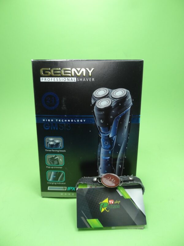 ریش تراش سه تیغ جیمی geemy مدل GM-513